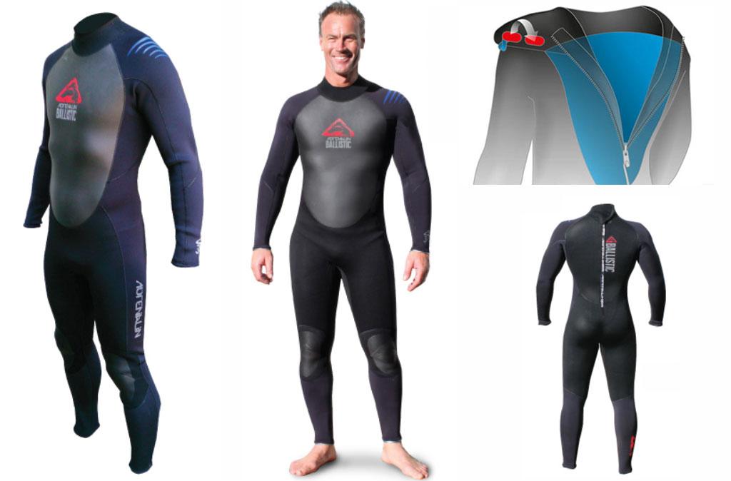 Adrenalin Wetsuits Ballistic Steamer Back Zip