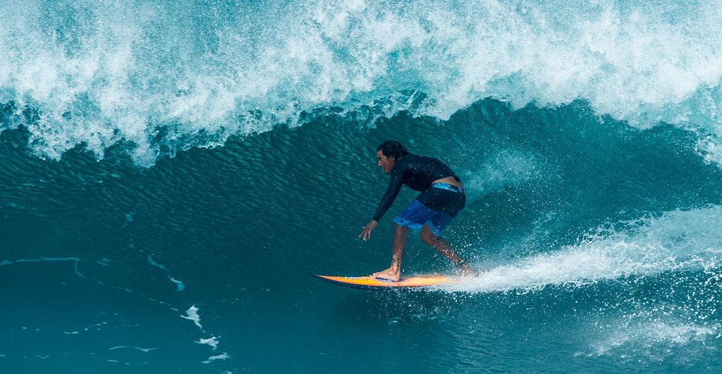 FK Surf Accessories Mikala Jones Surfing Barrel