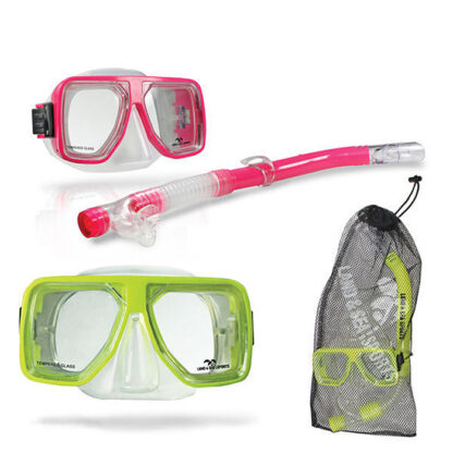 Land & Sea Bermuda Mask Snorkel Mesh Bag Set