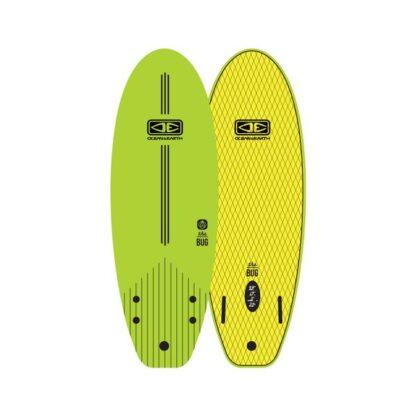 Ocean & Earth The Bug Mini Softboard Lime Yellow