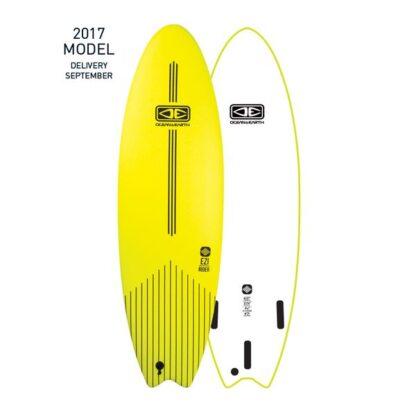 Ocean & Earth EZI-Rider Softboard Yellow White