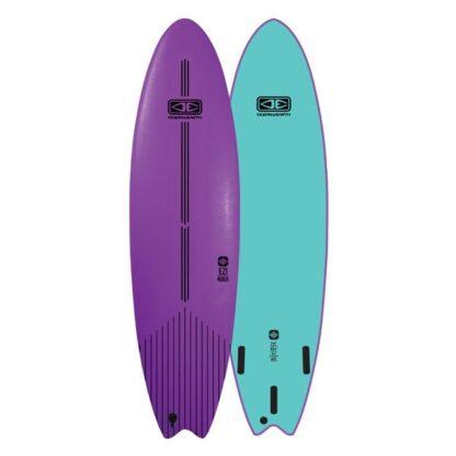Ocean & Earth EZI-Rider Softboard Mauve