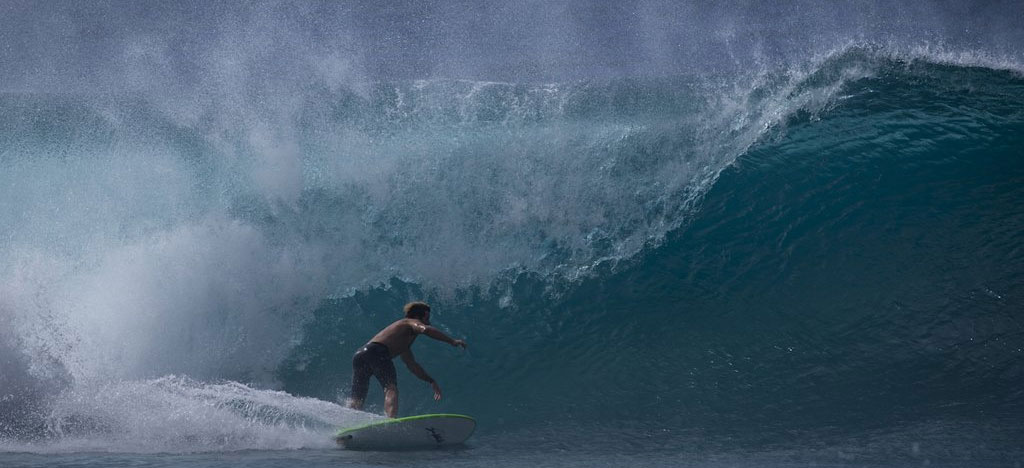 Softlite Softboards Surfing at Pipeline Hawaii