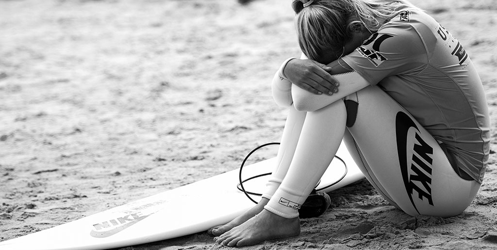 Surfing Competition Pressure