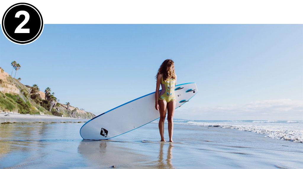 Surfing Softboard Surfing