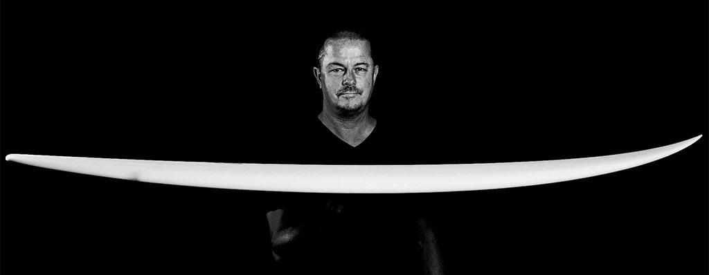 Surfing Greg Webber Master Surfboard Shaper