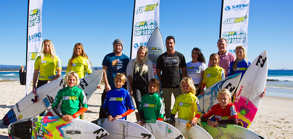 Surfing Shortboard Competition