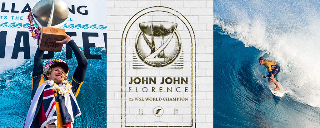 Surfing John John Florence World Surfing Champion