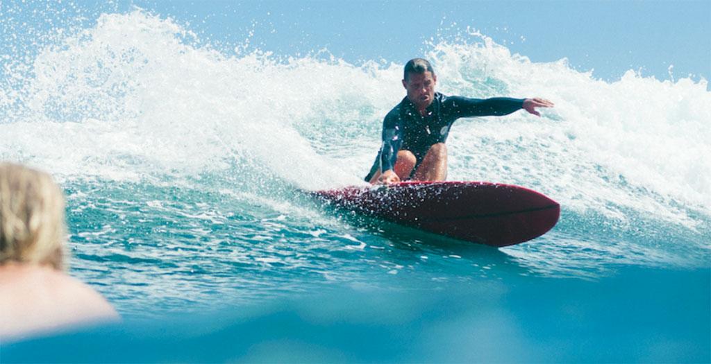 Surfing Surfing On Fish Surfboard