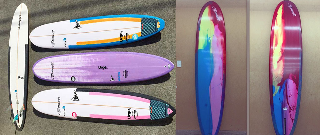 Surfing Performance Longboards