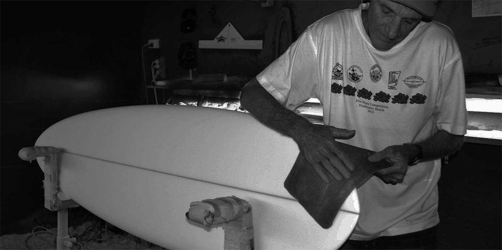 Surfing Steve O'Donnell Master Longboard Shaper