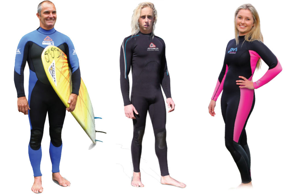 Surfing Wetsuits Back Zip