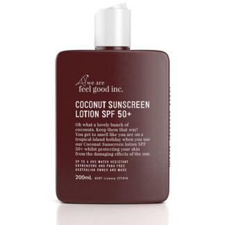 Coconut Sunscreen Lotion SPF 50+ 200ml