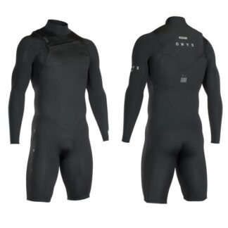 ION Wetsuit BS Onyx Core Shorty LS 2-2 Fz DL Wetsuits