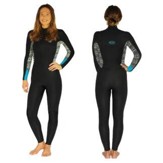 Reeflex Lava 4-3mm Ladies Steamer Wetsuits