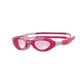 Zoggs Phantom Junior Super Seal Goggles Pink Camo
