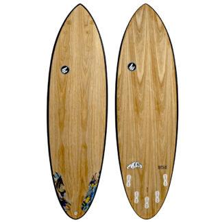 ECS Bulldog Paulownia Surfboard