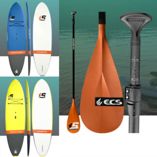 ECS Inception Soft Top SUP Stand Up Paddle Board