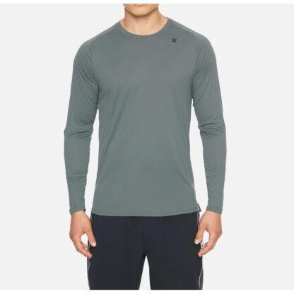 Hurley Long Sleeve Tee Shirt Rashvest Grey