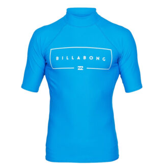 Billabong Mens Union SS Rashvest Royal
