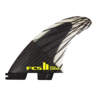FCS II Carver PC Carbon Tri Fin Set Thruster Fins
