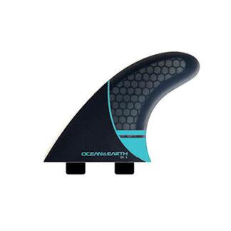 Ocean & Earth Whip Series Dual Tab Fins Medium Blue