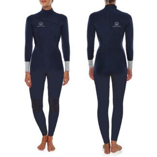 Ocean & Earth Ladies Chest Zip Steamer Wetsuit 3-2mm