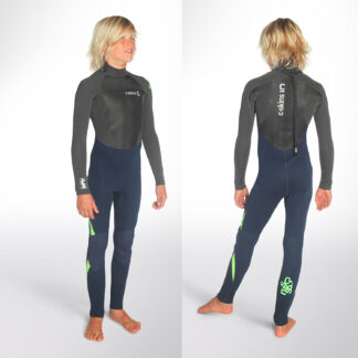 C-SKINS Legend 3-2mm Junior Back Zip Wetsuit Steamer