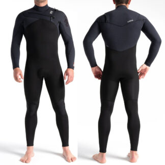 C-SKINS ReWired Mens Wetsuit Chest Zip Steamer 3-2mm Long Sleeve