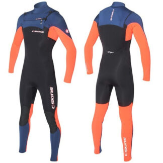 C-SKINS Rewired 3-2mm Junior Chest Zip Wetsuit Steamer