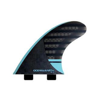 Ocean & Earth Speed Series Dual Tab 3 Fins
