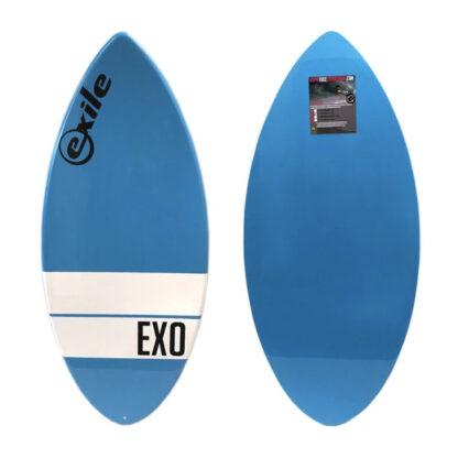 Exile EX0 Fibreglass Skim Board Blue