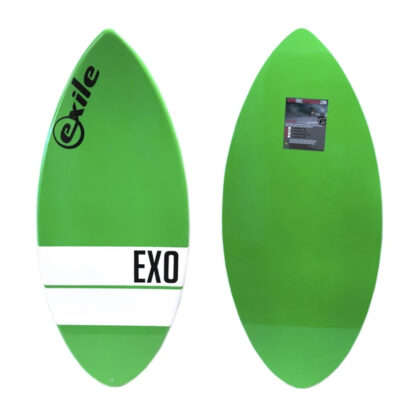 Exile EX0 Fibreglass Skim Board Green