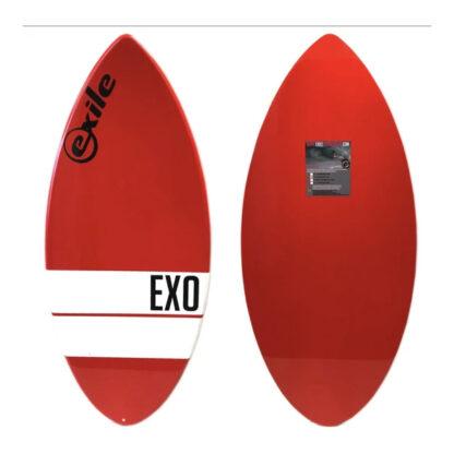 Exile EX0 Fibreglass Skim Board Red