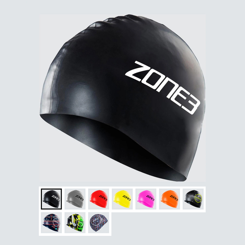 Zone 3 Silicone Swim Cap