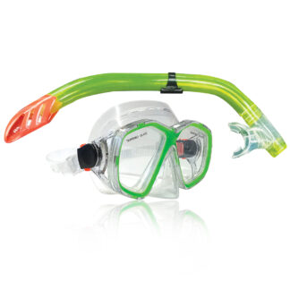 Land & Sea Daintree Mask Snorkel Mesh Bag Set