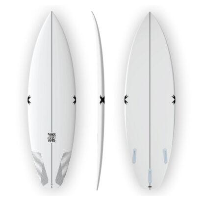 Superbrand Black Viper Surfboard FCS II