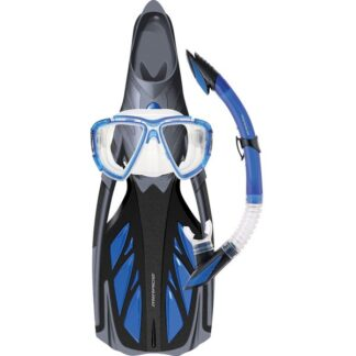 Mirage Platinum Mask Snorkel Fins Set