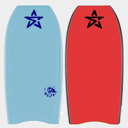 Stealth Delta PE Bodyboard Ice Blue