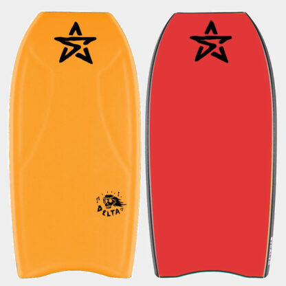Stealth Delta PE Bodyboard Orange