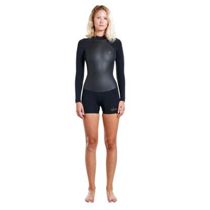 Adelio Harper Ladies Boy Leg Long Sleeve Spring 2-2mm Womens Wetsuit