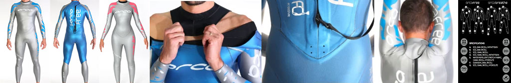 Orca High Performance Swim Gear FreeDiving Wetsuits