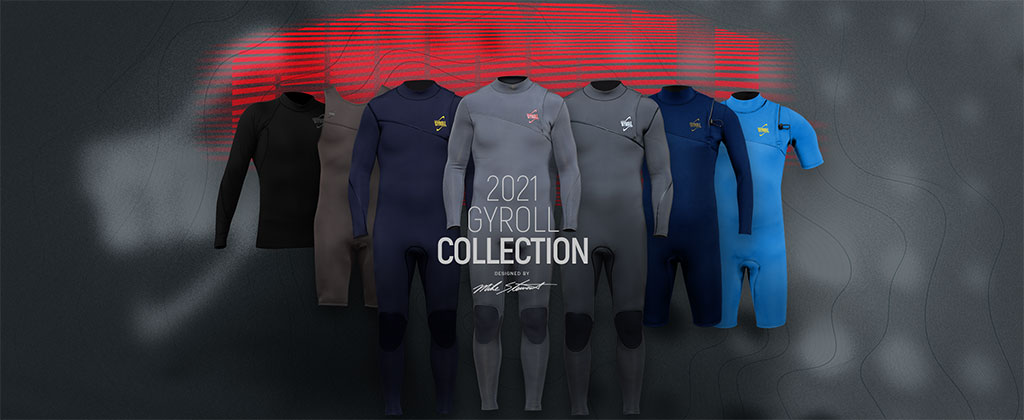 Science Bodyboards Gyroll Wetsuit Collection