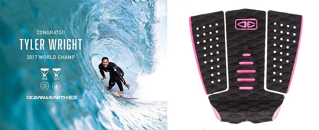 Surfboard Traction Ocean & Earth Tyler Wright Model