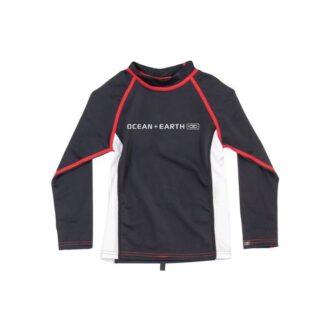 Ocean & Earth Boys Rash Vest Long Sleeve