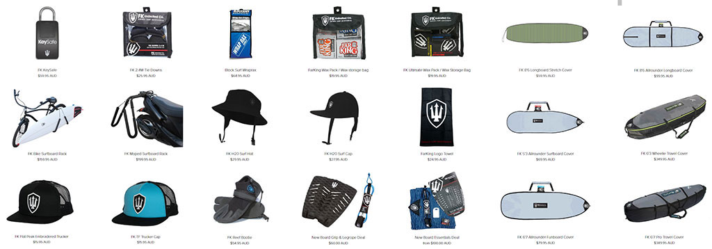 Surf Gear Surf Accessories Wide Range Available