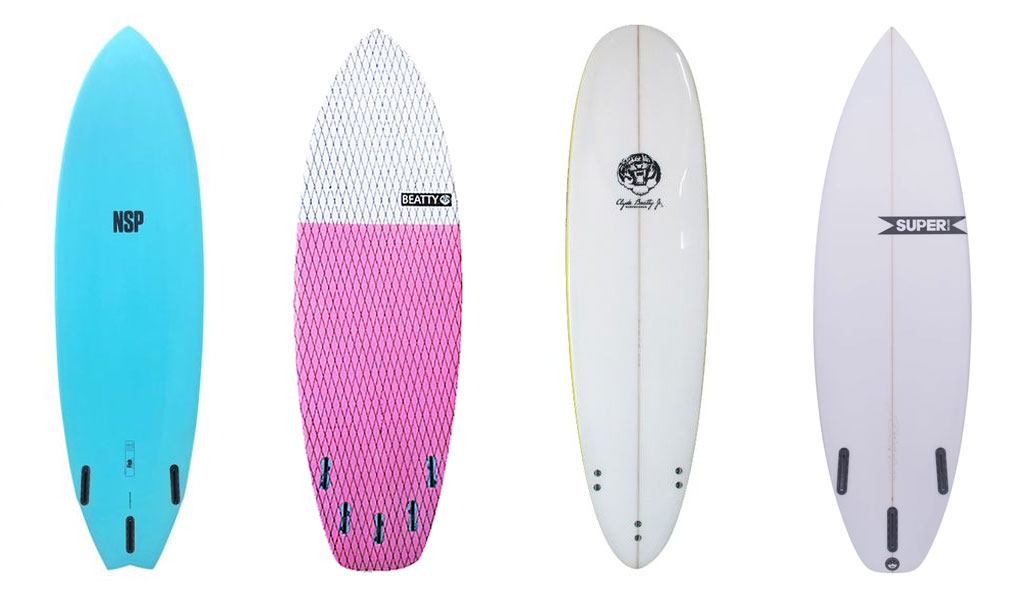 Surfboard Fins Different Type Surfboards Need Different Fins