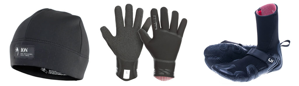 Wetsuits Accessories Beanies Gloves Booties