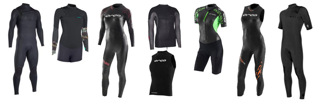 Wetsuits For Surfing Swimming Triathlon Steamer Spring Suits Vests
