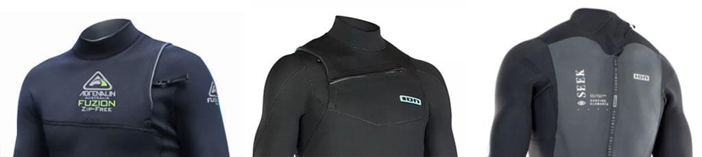 Wetsuits Zipless Front Zip Back Zip